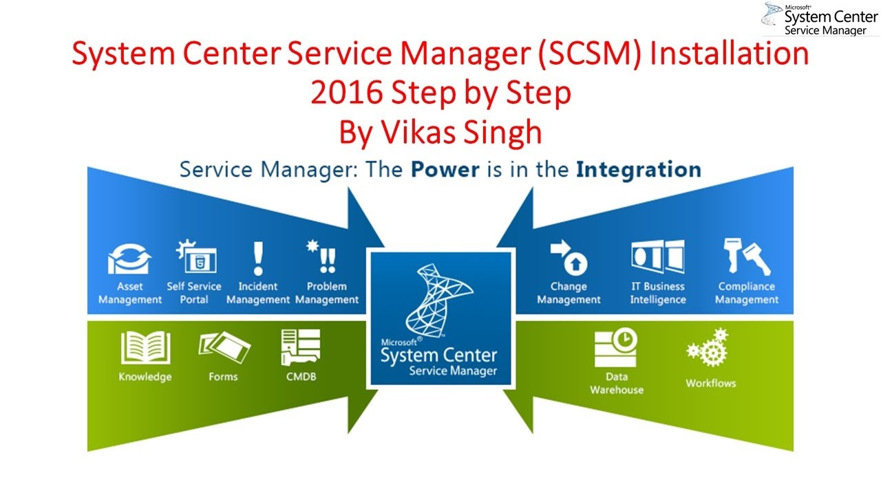 System Center Service Manager SCSM Installation 2016 Step by Step