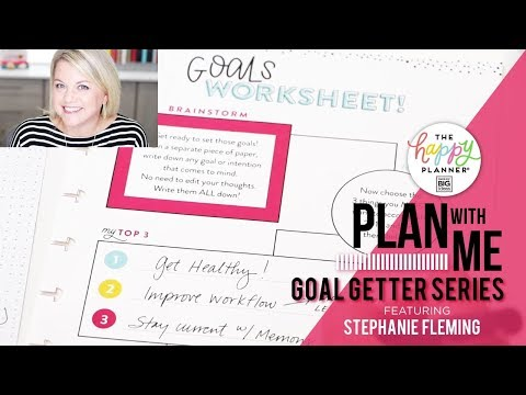Plan With Me - Goal Getter Series // Part ONE!