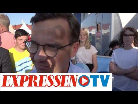 Järvaveckan 2019: Ulf Kristersson: 'Behöver väsentligt lägre invandring'