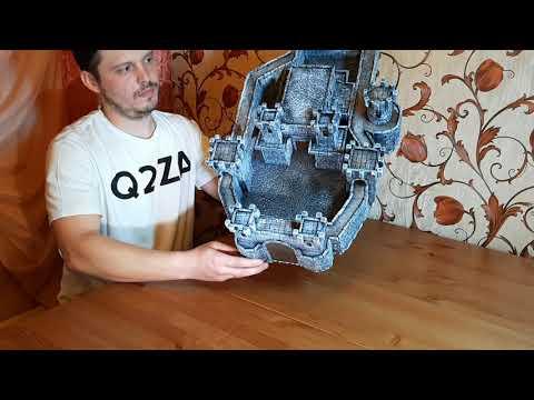 Макет рыцарского замка из бумаги своими руками