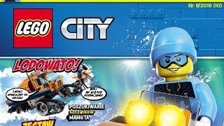 Przegląd  gazetki Lego City 6/2018