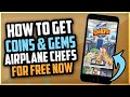 Airplane Chefs Hack - Free Coins and Gems ✈️