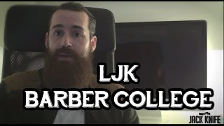 Bienvenido a LJK Barber College - Lord Jack Knife