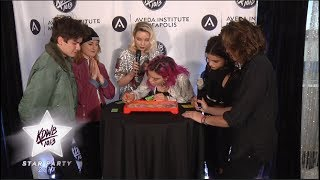 WATCH: Hey Violet Plays A Serious Game Of Operation With Raven!