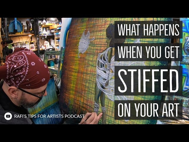 When Someone Doesn't Pay For Their Art Commission, Being Stiffed - Artist Podcast