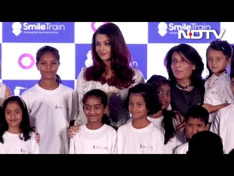 Aishwarya Rai Bachchan On Cleft Care By 'Smile Train' Charity
