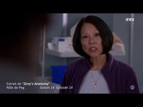 Vidéo Doublage Grey's Anatomy - Rôle de Peg