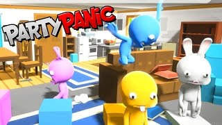 NOT SALTY IN PARTY PANIC! | RADIOJH GAMES & MICROGUARDIAN