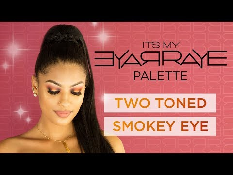 Two-Tone Smokey Eye Makeup Tutorial