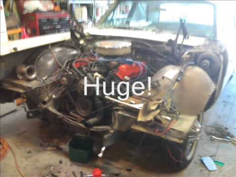 1966 Ford Galaxie 390 Part 1 Engine Bay Disassembly  YouTube