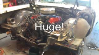 1966 Ford Galaxie 390 Part 1 Engine Bay Disassembly