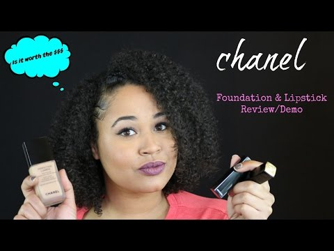 chanel-foundation-&-lipstick-review