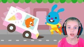 Мобильная ИГРА С СУПЕРГЕРОЕМ Смешное видео для детей Игры для детей
