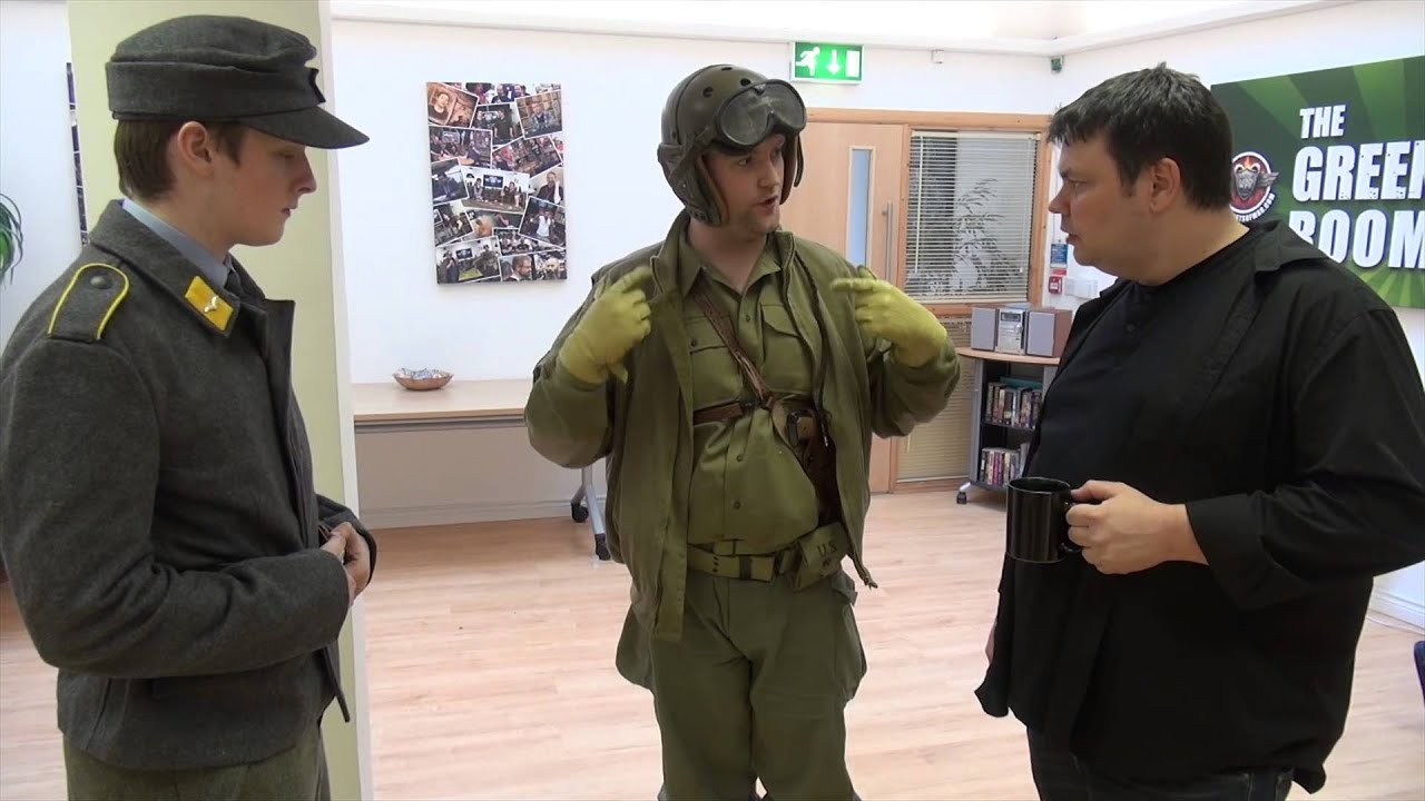 World war ii kit 3rd armoured tanker uniform youtube publicscrutiny Choice Image