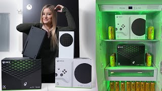 Xbox Series X and S Unboxing - IN FRONT OF THE XBOX FRIDGE!!!