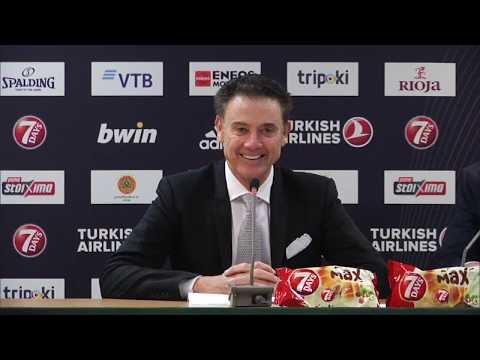 Euroleague Post - Game Press Conference: Panathinaikos OPAP Athens vs CSKA Moscow