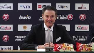 Euroleague Post - Game Press Conference: Panathinaikos OPAP Athens vs CSKA Moscow