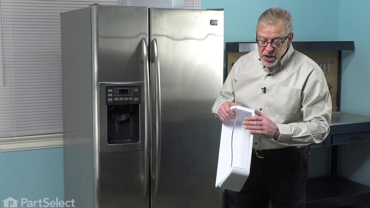 Refrigerator Repair Replacing The Door Bin Ge Part