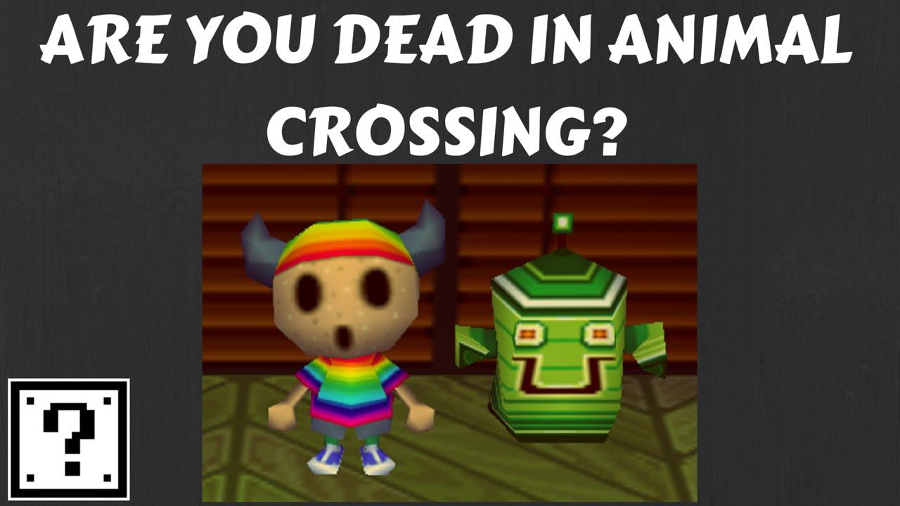 Animal crossing rover creepypasta