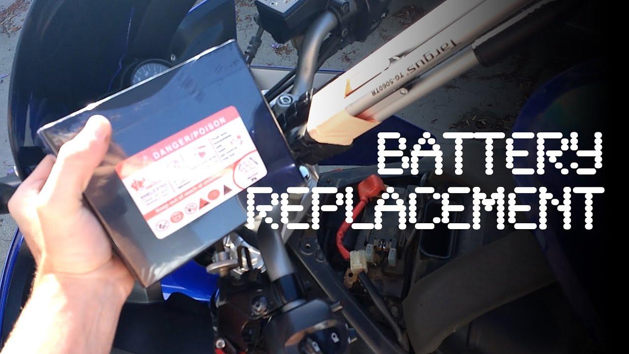 Yamaha R Battery Location