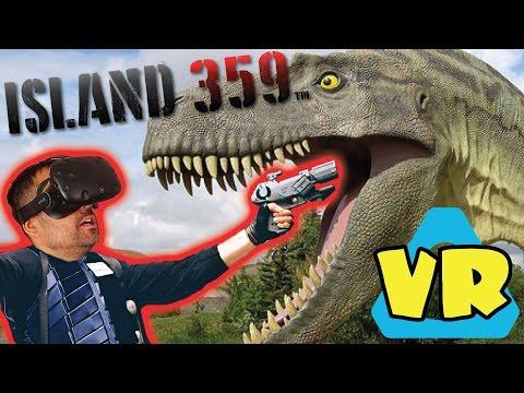 JUEGO DE REALIDAD VIRTUAL, DINOSAURIOS Y DISPAROS | Island 359 - HTC Vive