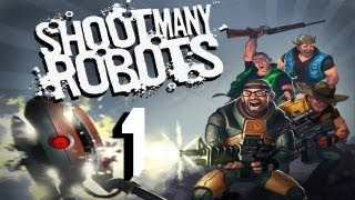 Mindcrack Plays: Shoot Many Robots - Episode 1