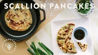 I Eat Green Onion (scallion) Pancakes For Breakfast!