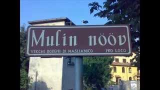 Masliànic, hamlet names in Lombard