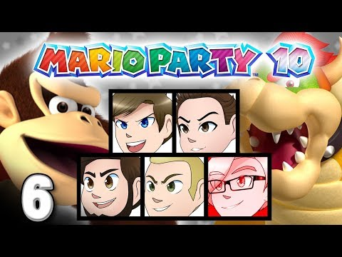 Mario Party 10: JUMPSCARE! - EPISODE 6 - Friends Without Benefits
