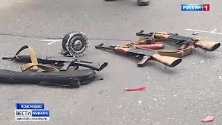 Погоня со стрельбой в Краснодаре 28.08.2017
