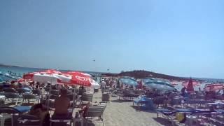 Самый лучший пляж - Нисси - Кипр )