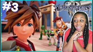 TO INFINITY AND BEYOND!! | Kingdom Hearts 3 Episode 3 Gameplay!!!
