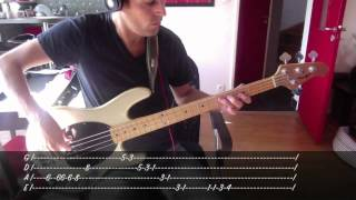 Skunk Anansie - Hedonism - Bass Cover & Tab