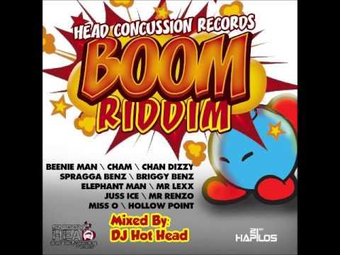 DJ Hot Head - Boom Riddim Mix [Head Concussion Records] - April 2013