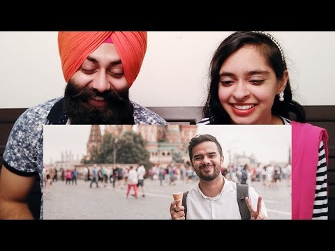 Indian Reaction on THE MOSCOW ICE CREAM STORY ft. Irfan Junejo | PunjabiReel TV