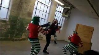 Tyrone Magnus Kickin ELF BUTT!!!