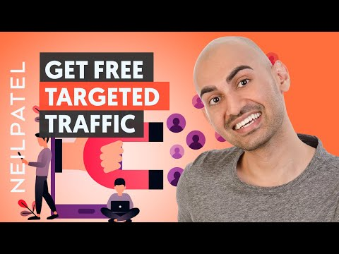 7 Advanced Ways to Get Free Traffic That Converts | Neil Patel thumbnail