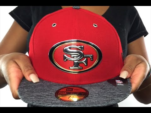 49ers  2016 NFL DRAFT  Fitted Hat by New Era - YouTube 6bccbcb5c