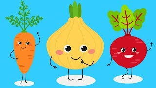 Vegetables for Kids! Learn Vegetable Names in English for Preschoolers and Toddlers