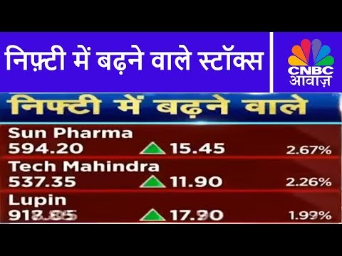 Know Your Company | निफ़्टी में बढ़ने वाले स्टॉक्स: Sun Pharma, Tech Mahindra, Lupin | CNBC Awaaz