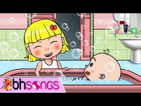 Bubble Bath Song Nursery Rhymes Lyrics   Nursery Rhymes TV [Music Video 4K]