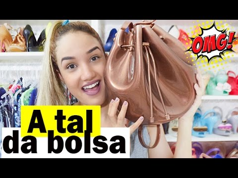 Bolsa Melissa Sac Bag - Melissa FlyGrl - YouTube 317f8ce51c4