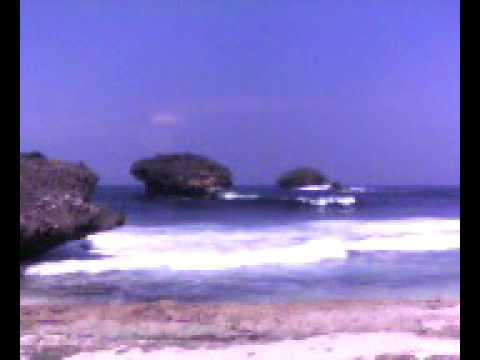 Srau Beach Pacitan in East Java, Indonesia.avi