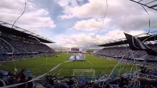 San Jose Earthquakes Avaya Stadium Opening Ceremony from su