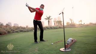 Dubai's only LED floodlit TrackMan Driving Range