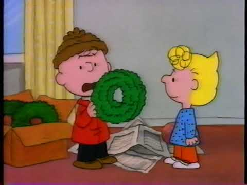 Its Christmas Time Again Charlie Brown.Opening To It S Christmastime Again Charlie Brown 1992 Vhs True Hq