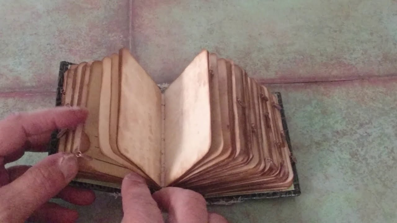 Mini Journal -  in my Etsy shop