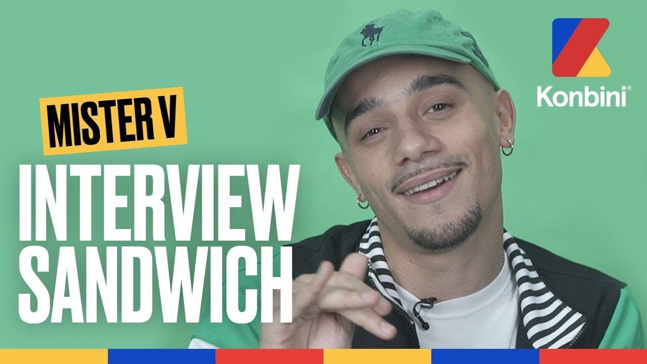 Download Mister V - Trop de sauce Biggy dans mon sandwich | Interview Sandwich | Konbini