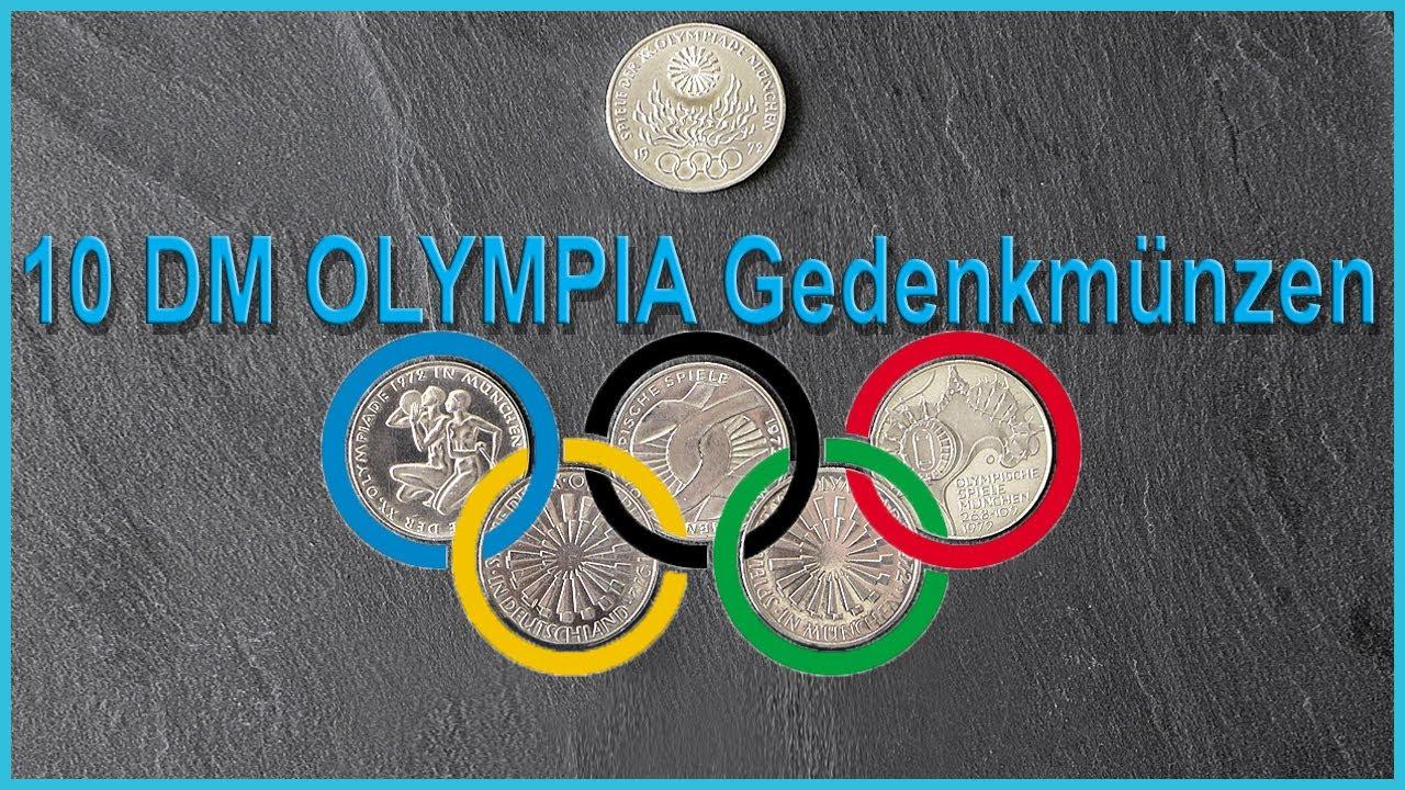 10 Dm Münzen Olympische Spiele 1972 Gedenkmünzen Aus Silber Youtube