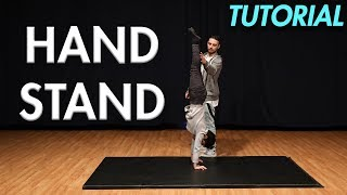 How to do a Handstand (Beginner Gymnastics Tutorial)  MihranTV